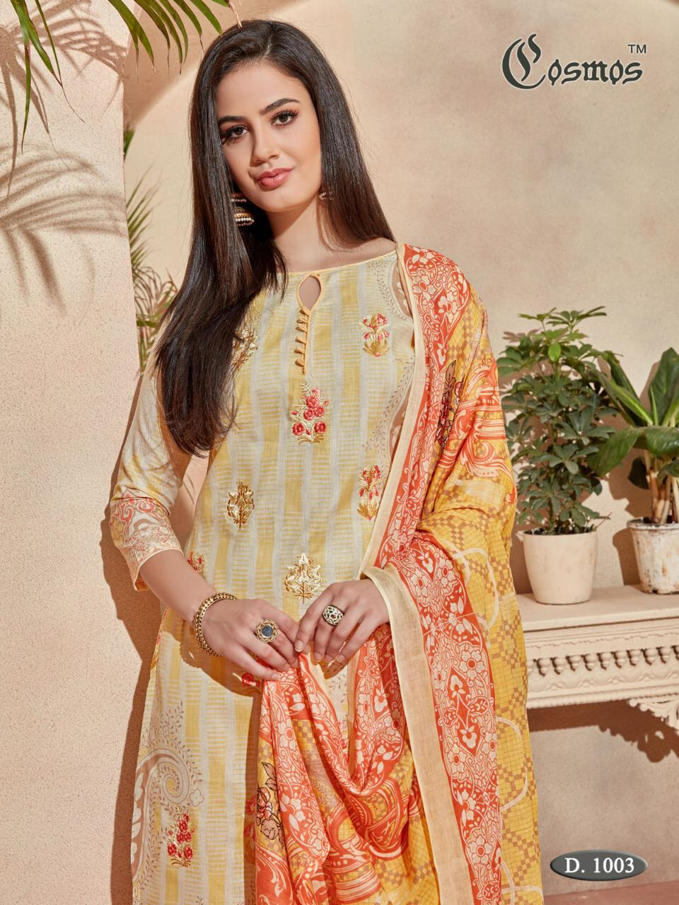 c99a30b88d Cosmos Fashion - SAADIA NOOR LAWN COLLECTION