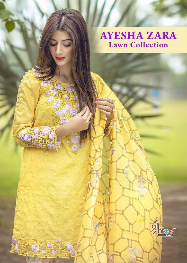 Ayesha Zara Salwar Suit Wholesale Indian Dress Supplier